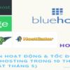 Thời gian hoạt động & tốc độ của các Web hosting